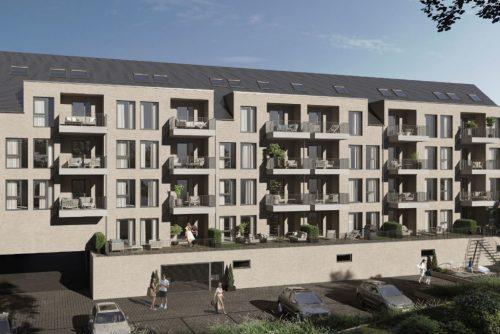Trier, Wohnen im Maarviertel, Neubau mit 23 Wohneinheiten von Friedmann Immobilien